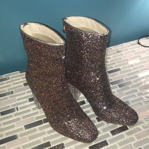 Cape Robbin Multi colored glitter Boots